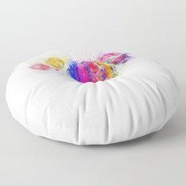 Air Balloons Bright Color Floor Pillow