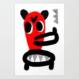 LONG MUZZLE Art Print