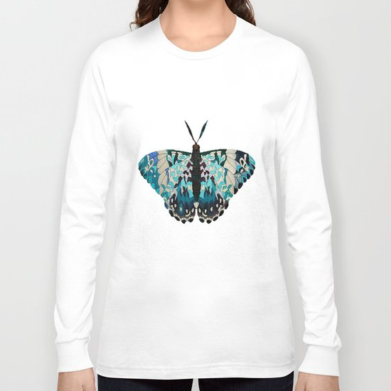 Butterfly Painting Long Sleeve T-shirt