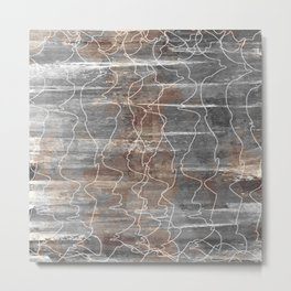 Unearthed Metal Print