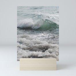 Curly Ocean Jam Mini Art Print
