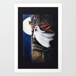 HAVE YOU SEEN ME Art Print