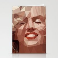 marilyn Stationery Cards featuring marilyn by gazonula