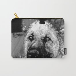 german shepherd dog v2vabw Carry-All Pouch