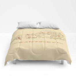 Kentucky State Lines Comforters