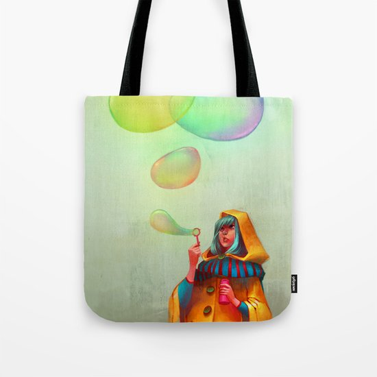 Bubbles of Color Tote Bag