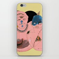 angels iPhone & iPod Skins featuring Angels by Amandah Andersson