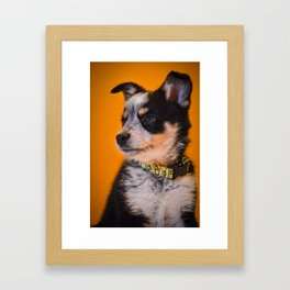 High Alert Framed Art Print