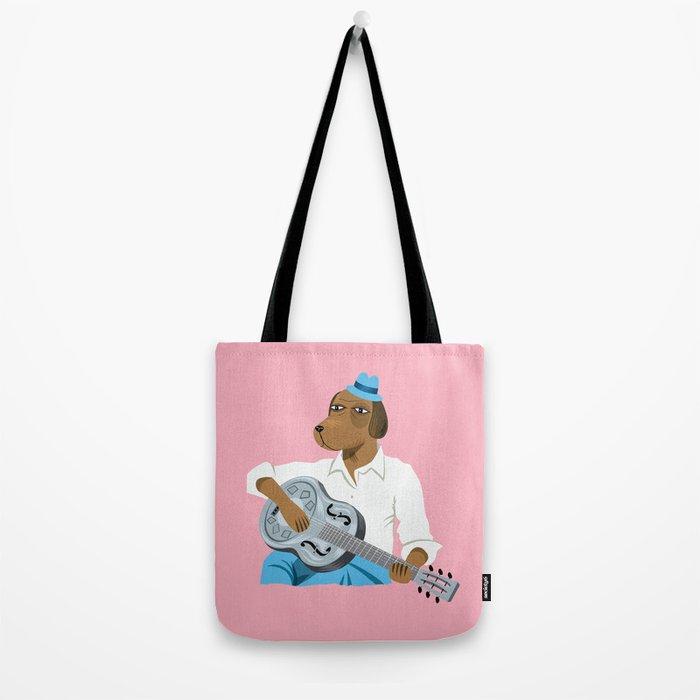 Hound Dog Slim Tote Bag