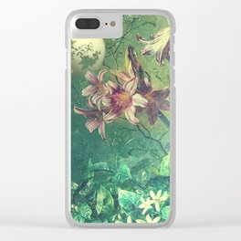 Daybreak under the fairy moon Clear iPhone Case