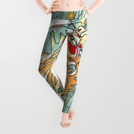 Butterfly with Chrysalis Leggings