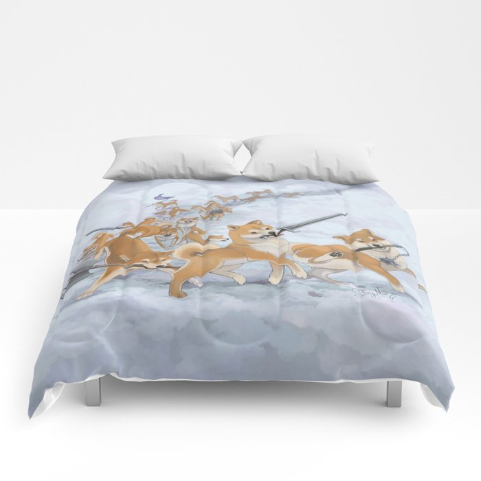 Cry Heckin' and Let Slip the Doges of War Comforters