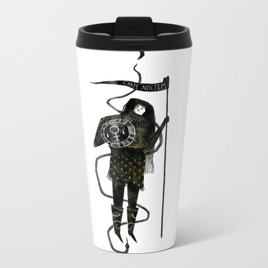 Warrior Princess Metal Travel Mug
