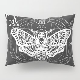 Witch Craft White Pillow Sham