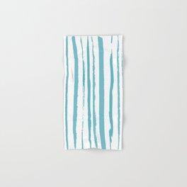 blue streaky pattern Hand & Bath Towel
