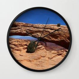 Mesa Arch Wall Clock