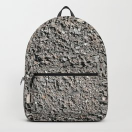 stone wall, fine-grained stone Backpack