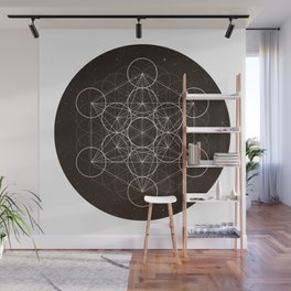 Metatrons Cube Is Out Of Space Wall Mural