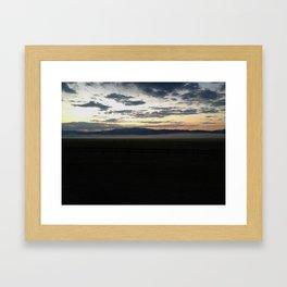 Northern Fog 01 Framed Art Print