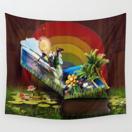 A Fairytale Wall Tapestry