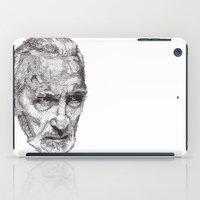 christopher walken iPad Cases featuring Christopher by Rik Reimert