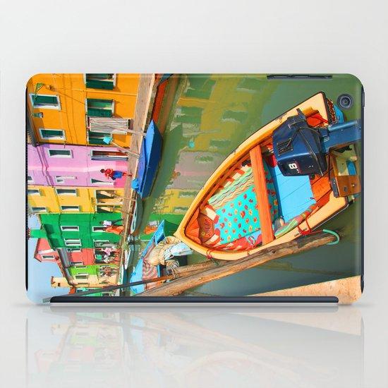 burano, italy - boat iPad Case