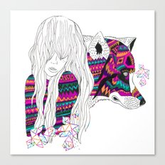 ▲SHE-WOLF▲ Canvas Print