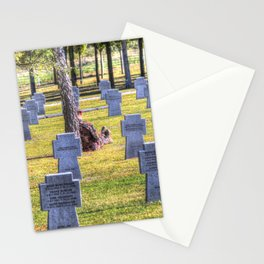 The Futility Of War Stationery Cards