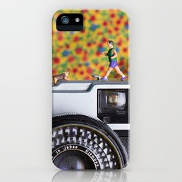 Shrunk the people 2 iPhone Case