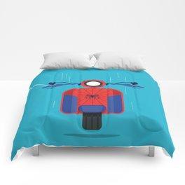 SPIDERVESPA Comforters