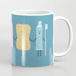 The Bathroom Gang Coffee Mug