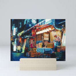 By Lantern Light Mini Art Print