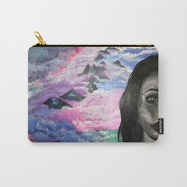 """""""In the clouds"""" Carry-All Pouch"""