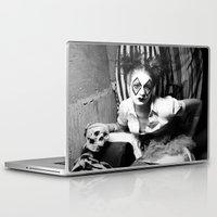 nurse Laptop & iPad Skins featuring Nurse & Clowns by Flashbax Twenty Three
