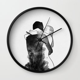 I am the luckiest to have you. Wall Clock