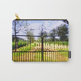 Wrought Iron Vintage Farm Gate Carry-All Pouch