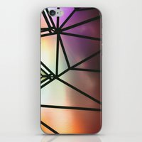 one line iPhone & iPod Skins featuring Line One by Jillian VanZytveld