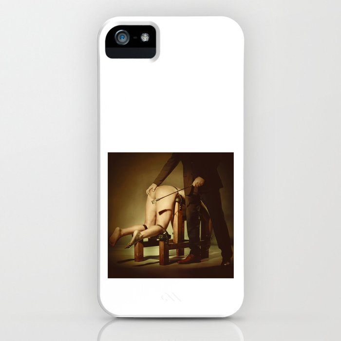 Nude Woman On the Whippingbench iPhone Case