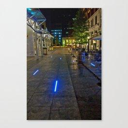 Walkway of Lights Canvas Print