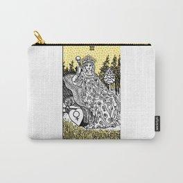 Modern Tarot Design - 3 The Empress Carry-All Pouch