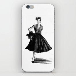 Fashion 1950 iPhone Skin
