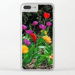 Spring Kaleidoscope Clear iPhone Case