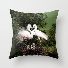 The Couple Throw Pillow