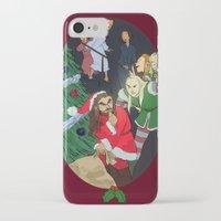 thorin iPhone & iPod Cases featuring Santa Thorin by Lauren Ashizawa