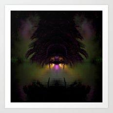 Tropical No Name Art Print