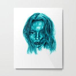 wendy blue  Metal Print