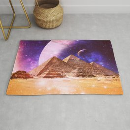 Galaxy Pyramids Rug