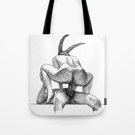 asc 623 - Le sacrifice du bouc (The performers I) First draft Tote Bag