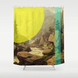 Ellow Shower Curtain