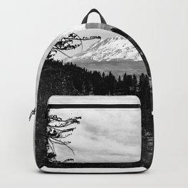 Mount Shasta, and neighboring mountain Shastina, Siskiyou County, ca.1900-1940 Backpack